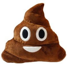 Poop Games Everybody Neck Pillow For Kids Lower Back Smiley Face Emoji Stuffed #ANJAYLIA