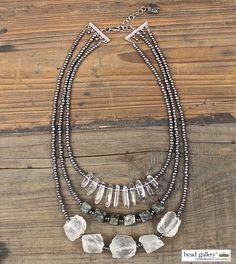 DIY Metro Metal bracelets by Denise Yezbak Moore featuring Bead Gallery beads from @MichaelsStores