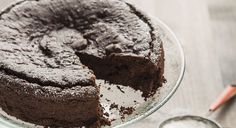 This incredibly moist cake is made from two secret healthy ingredients: avocados and beets. Avocados are rich in healthy fats and fiber; beets are a good source of potassium and add natural sweetness. Healthy Cake Recipes, Healthy Sweets, Vegan Desserts, Just Desserts, Baking Recipes, Dessert Recipes, Healthy Fats, Healthy Grains, Vegan Dark Chocolate