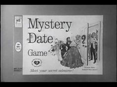 Mystery Date a popular board game with a popular commercial in 1965 -- and the one Mad Men's Sally is watching while Pauline discusses the murders on the phone (see article). To play the game, girls would open different doors to find different mystery dates, with the hope of scoring a hunk, not a dud. - This news clip goes into the psyches of the Mad Man characters. Interesting.