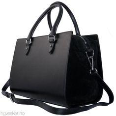 Høstens nyheter fra Decadent Copenhagen har ankommet www.hgvesker.no! Her ser du Handbag with Suede.
