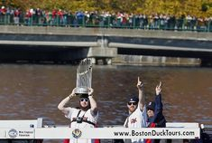 "Red Sox hold ""rolling rally"" to celebrate title 