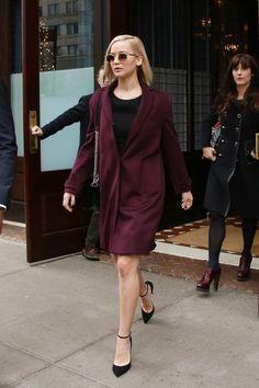 Jennifer Lawrence Masters Warm Winter Dressing-Wmag