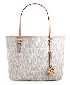 MK bag in white or brown