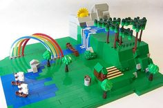 It is a nice day in Sandy Lego |by Monsterbrick