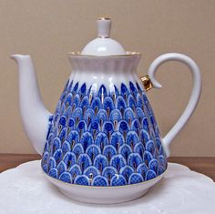 Russian Imperial – Peacock Teapot