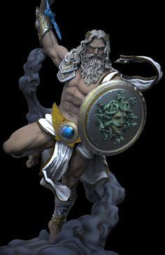 Exfig Studios' Zeus statue