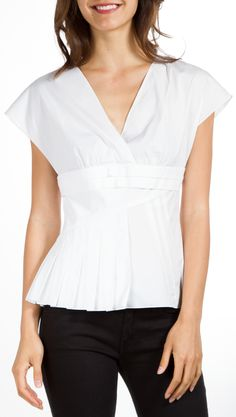 CHRISTIAN DIOR BLOUSE @Michelle Coleman-HERS