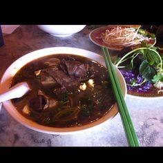 Bun Bo hue | Vietnamese spicy beef noodle soup