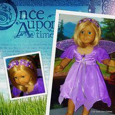 Sparkling Woodland Fairy Costume fits von CSBSewsDollClothes
