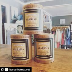 """All you Alabama girls. Swing by @itssouthernsweet Brentwood Tn. For your """"sweet home"""" fragrance  #sweethomealabama #southernfirefly #southerngirl #southernfireflycandle #shoplocal #nashville"""