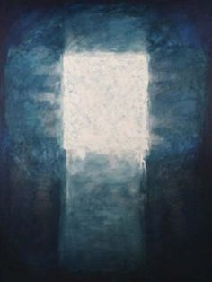 """Resurrection Josef Žáček's, Modern Art in Roudnice in the Czech Republic. from """"Period of Light"""" Example Of Abstract, Abstract Photos, Abstract Art, Easter Paintings, Empty Tomb, Gallery Of Modern Art, Church Banners, Illustrations And Posters, Christian Art"""