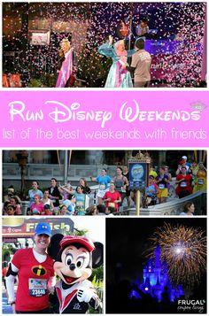 Best Run Disney Weekends with Friends - Disney Girls Weekend Ideas.