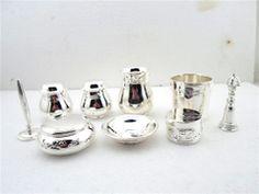 批量订做铜金子镀925纯银 香道用具套装 香盒香篆 香炉 品香用具