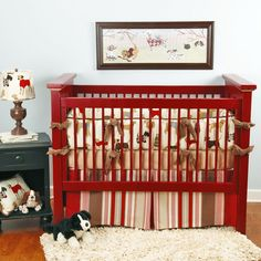 Tail Wagger Baby Bedding @PoshTots
