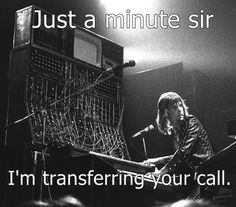 Keith Emerson. He'd like this one...hee hee. Miss you, Emo.