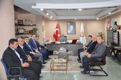 Hakim ve savcılardan başkan Bozkurt'a ziyaret