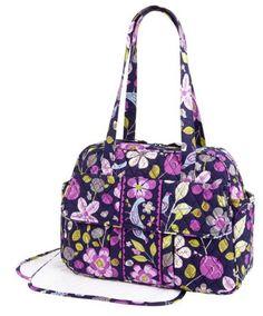 Black Friday Vera Bradley Baby Bag in Floral Nightingale from Vera Bradley  Cyber Monday bf13665a45fd1