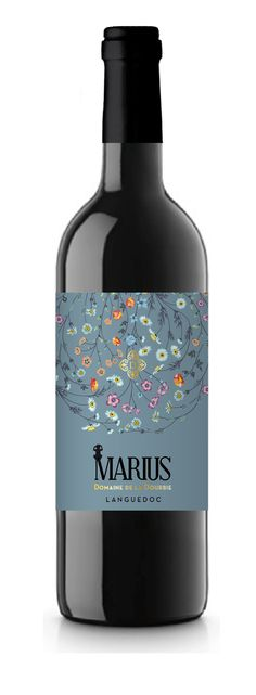 Marius! #wine #label #frenchwine #languedoc #organic