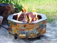 The CONTEMPORARY Outdoor Firepit
