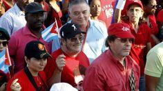 La narcoguerrilla de las FARC asistió al festejo por el Día del Trabajador en Cuba – – The Bosch's Blog