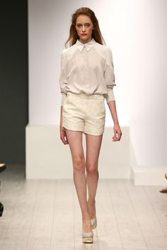 Isabell de Hillerin RTW Spring 2014 [Photo by Getty Images for Mercedes-Benz Fashion Week Berlin]