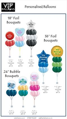 Personalised Balloons Personalized Balloons, Custom Balloons, Printed Balloons, Balloon Arrangements, Balloon Centerpieces, Balloon Decorations, Balloon Prices, Bridal Shower Balloons, Graduation Balloons