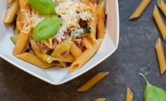 One Pot Pasta #healthy #quick #easy #lunch #dinner #recipe #onepot #pasta