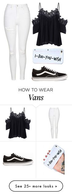 """""""She got a bad reputation"""" by baileejade on Polyvore featuring Topshop and Vans"""