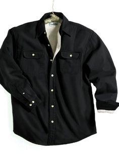 TRM Men's Cotton Tahoe Stonewashed Fleece Denim Shirt Jacket (10 Color, XS-6XLT) - http://www.darrenblogs.com/2016/12/trm-mens-cotton-tahoe-stonewashed-fleece-denim-shirt-jacket-10-color-xs-6xlt/