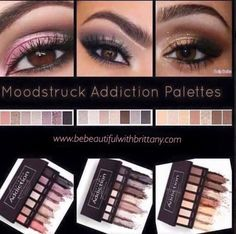 I love how user friendly the Addiction Palettes are!! So many beautiful combinations are possible.  #younique #shadowpalette  www.bebeautifulwithbrittany.com