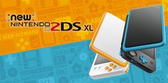 La New Nintendo 2DS XL est disponible avec plus de 1000 jeux - Les consoles de la famille Nintendo 3DS accueillent aujourd'hui une nouvelle venue avec la sortie de la New Nintendo 2DS XL. Compacte, légère et dotée d'un design à écran rabattable, cette console ...