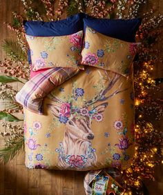 Curious Stag Duvet Set (DBL), The Wild Curiosity Collection