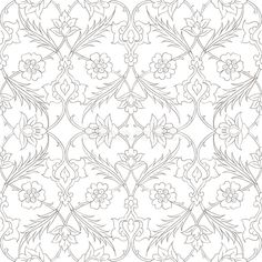 Traditional Arabic ornament seamless for your design. Photo about islamic illustration element iznik istanb Islamic Art Pattern, Pattern Art, Pattern Design, Embroidery Motifs, Embroidery Designs, Wallpaper Backgrounds, Desktop Wallpapers, Glitter Wallpaper, Wallpaper Art