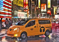 The taxi of tomorrow: NISSAN NV200【NYC】