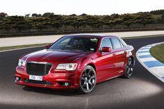 Chrysler 300C SRT8 Red