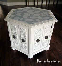 cute refinished table.