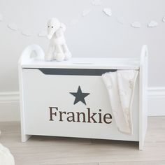 Personalized Star Toy Chest