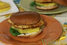 Wildtree's Grilled Chipotle Chicken and Pineapple SandwichesRecipe