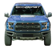 Chrome Green One Pcs F-150 ECOBOOST Front Door Adhesive Emblem Compatible with SUV F150 ECOBOOST 2011-2019