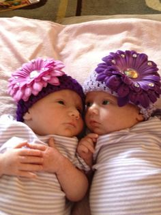 my twin baby girls...1 month old