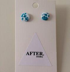 Turquoise x White Stellar Co Earrings
