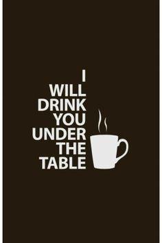 I'm a heavy drinker.