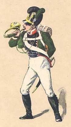 Bavaria: Hornist 4th Light Infantry Battalion Theobald 1811