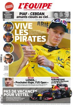 L'Équipe - Mardi 9 Juillet 2013 - N° 21542
