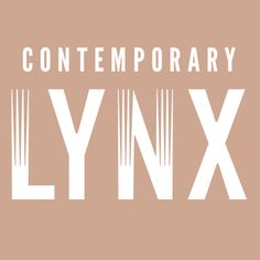 Logo Contemporary Lynx, design Pulp Studio, 2012