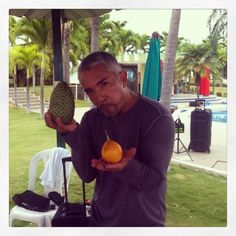 @Cesar Millan: I heart Ciruela fruit! #LiderdelaManada #chipmunkcheeks #fruit #foodie #travelpics #tourlife