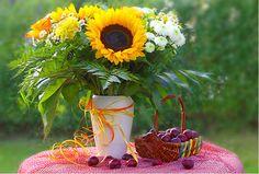 Hello Sunshine: Sonnenblume und Co. schenken uns jetzt ihr strahlendes Lächeln im Tischgeflüster-Magazin von Endlichzuhause.de