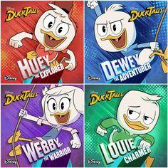 New Ducktales, Disney Ducktales, Barbie, Walt Disney Pixar, Image Pinterest, Duck Cartoon, Three Caballeros, Kid N Teenagers, Duck Tales