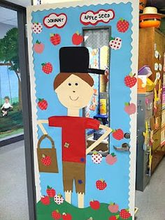 Johnny Appleseed door